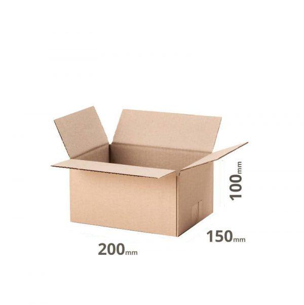 Versandkarton 200x150x100cm oder 20x15x10cm grau Welle B online kaufen