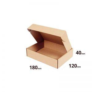 Klappschachtel 180x120x340mm (18x12x4cm) Faltschachtel Farbe Braun Welle E online bestellen