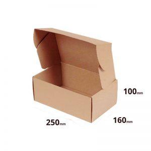 Versandschachtel 250x160x100mm oder Faltschachtel 25x16x10 online bestellen