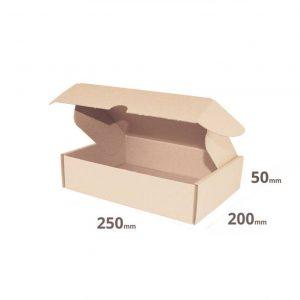 Faltschachtel braun 250x200x50mm oder 25x20x5cm online günstig kaufen