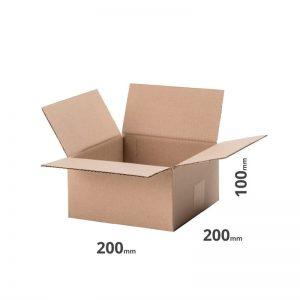 Faltkarton 200x200x100cm oder 20x20x10cm Welle B Farbe grau für Versand und Lager online günstig kaufen