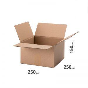 karton 250x200x150mm oder 25x20x15cm Welle B grau online günstig bestellen 20 Stk.