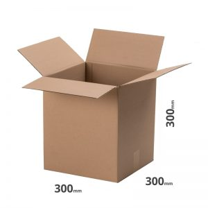 Versandkarton Schachtel 300x300x300mm 30x30cm