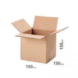 Versandkarton 150x150x150mm oder 15x15x15cm Faltka
