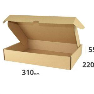 Faltschachtel Versandkarton 31x220x55mm 31x22x5,5