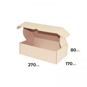 Faltschachtel braun 270x170x80mm oder 27x17x8cm Schachtel online günstig kaufen Österreich