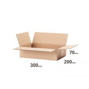 Versandkarton 300x200x70mm oder 30x20x7cm braun Welle B 370g/m² für Versand online kaufen Österreich