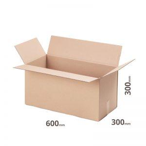 Grauer Karton 600x300x300mm online günstig kaufen