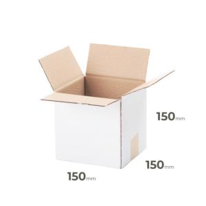 Weißer Klappkarton 150x150x150 mm günstig Online in Österreich kaufen.