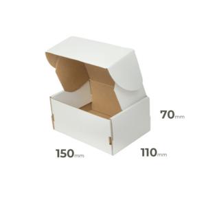 Weiße Faltschachtel 150x110x70 mm günstig Online in Österreich kaufen.