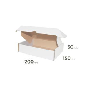 Weiße Faltschachtel 200x150x50 mm günstig Online in Österreich kaufen.