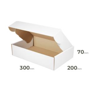 Weiße Faltschachtel 300x200x70 mm günstig Online in Österreich kaufen.