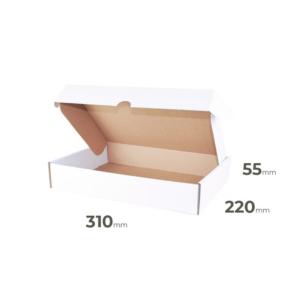 Weiße Faltschachtel 310x220x55 mm günstig Online in Österreich kaufen.