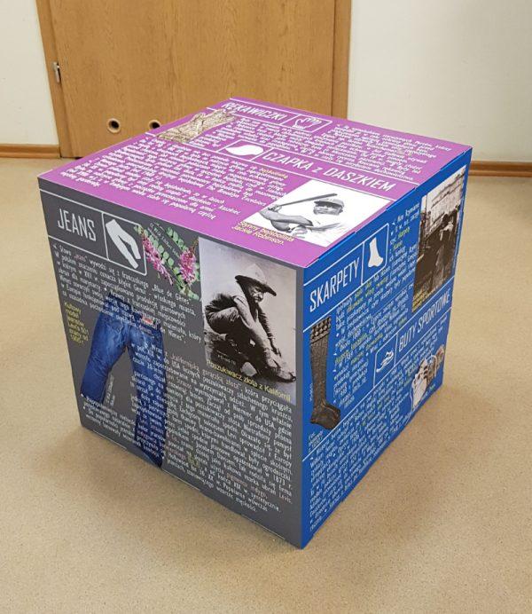 Display Cube aus Karton