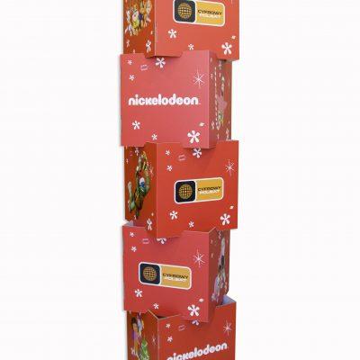 Würfelturm Würfel aus Karton mit Logo bedruckt