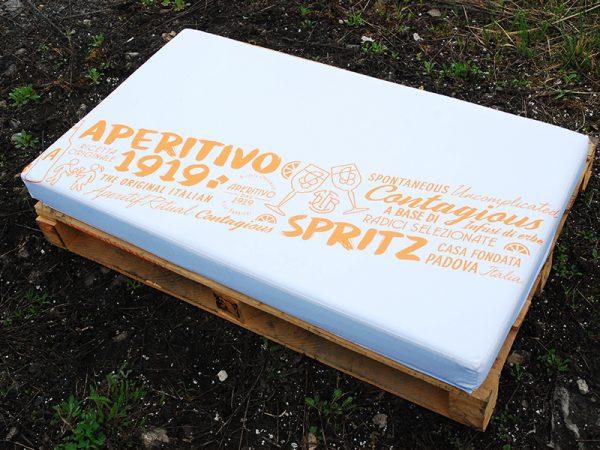 Palettenkissen 120x80 mit Logodruck, Musterdruck oder Werbespruch online bestellen