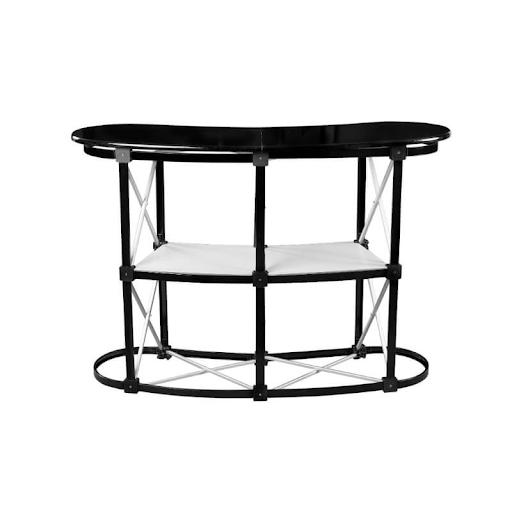 Aluminium Rahmen für Theke Pop-up 2x2 mit Regalen